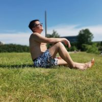 Автор сайта по тест-драйву нижнего белья