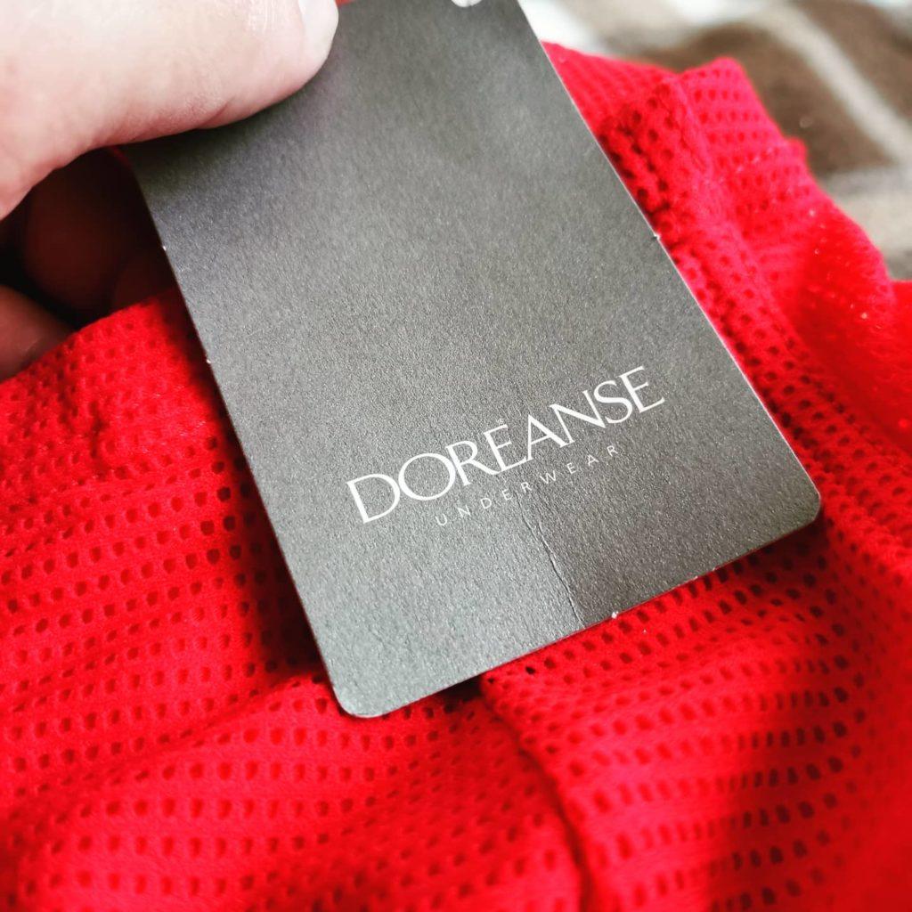 Обзор мужских трусов Doreanse красного цвета