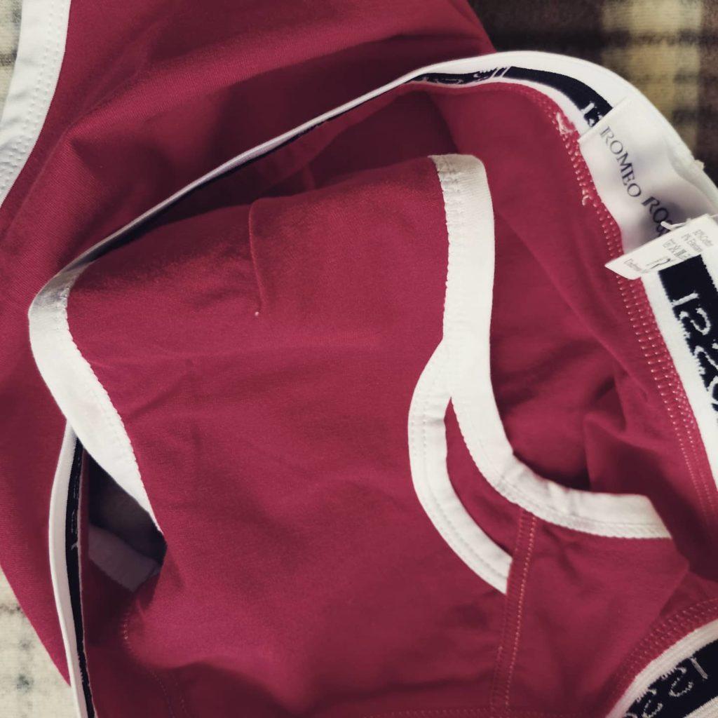 Обзор мужских трусов Romeo Rossi красного цвета