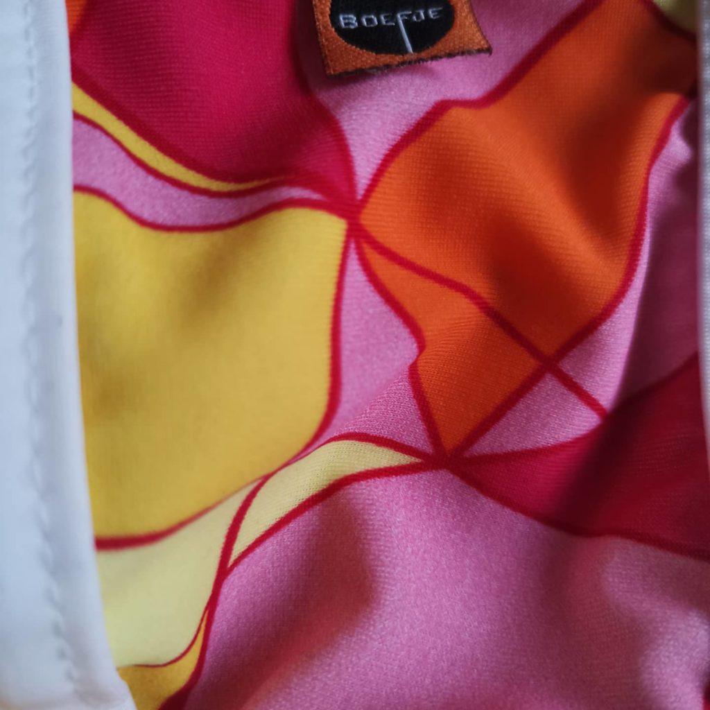 Стринги разноцветные с геометрическим узором Boefje RT35526