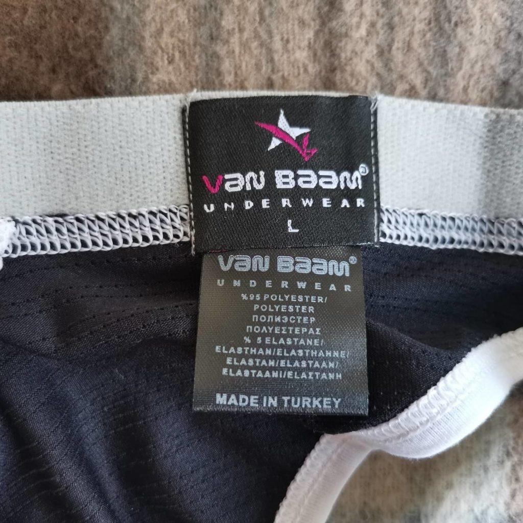 Трусы мужские с вырезами спереди и сзади Van Baam VB-38149