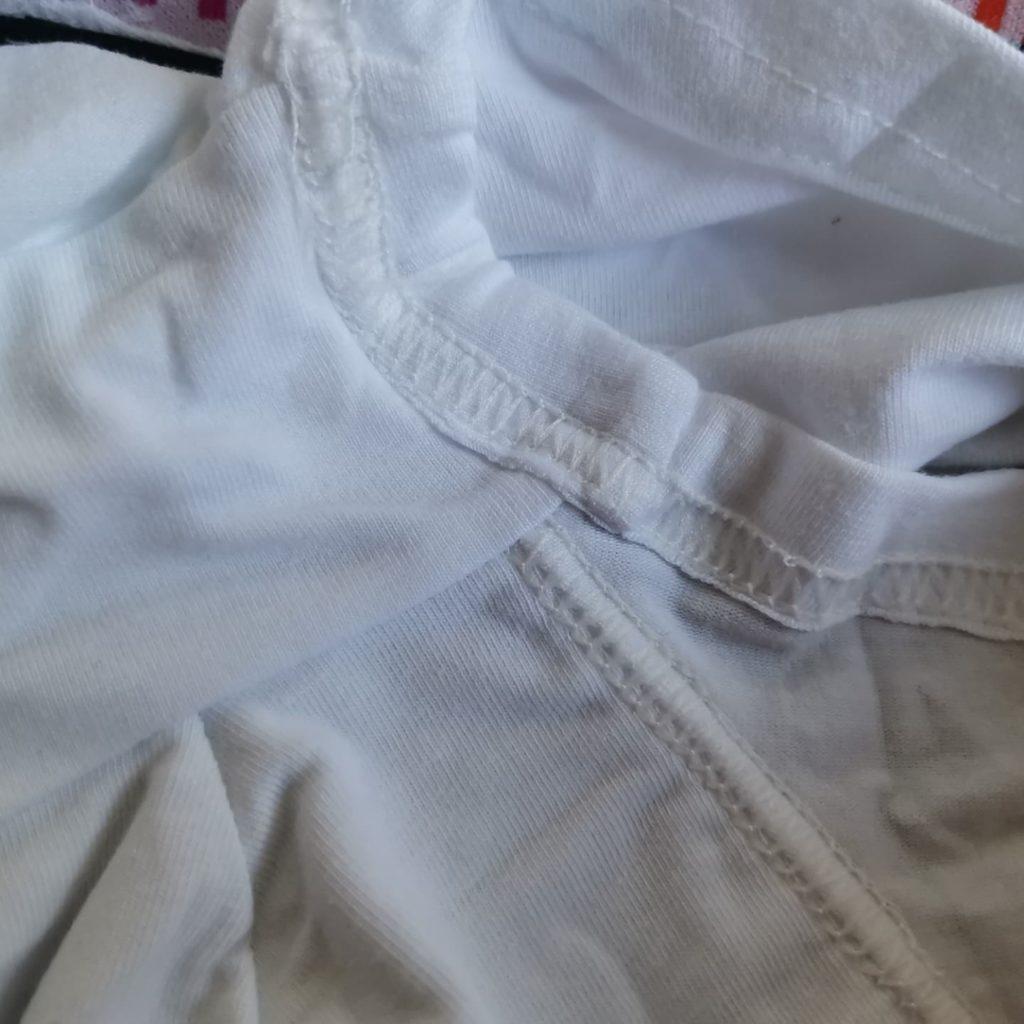 Мужские трусы хипсы белые Van Baam 44750