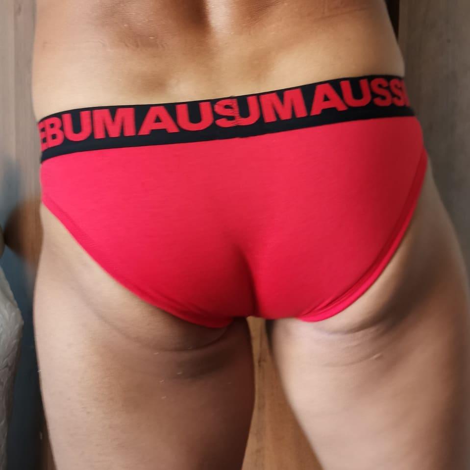 Мужские трусы брифы с карманом Aussiebum Pocket Jockit Red Brief AB00229